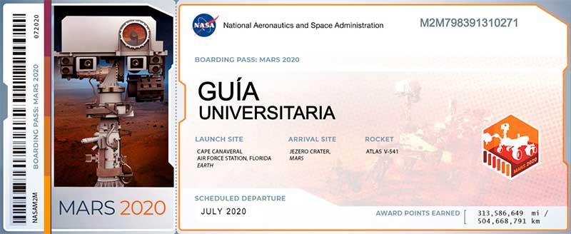 la NASA te ofrece un pase para Marte