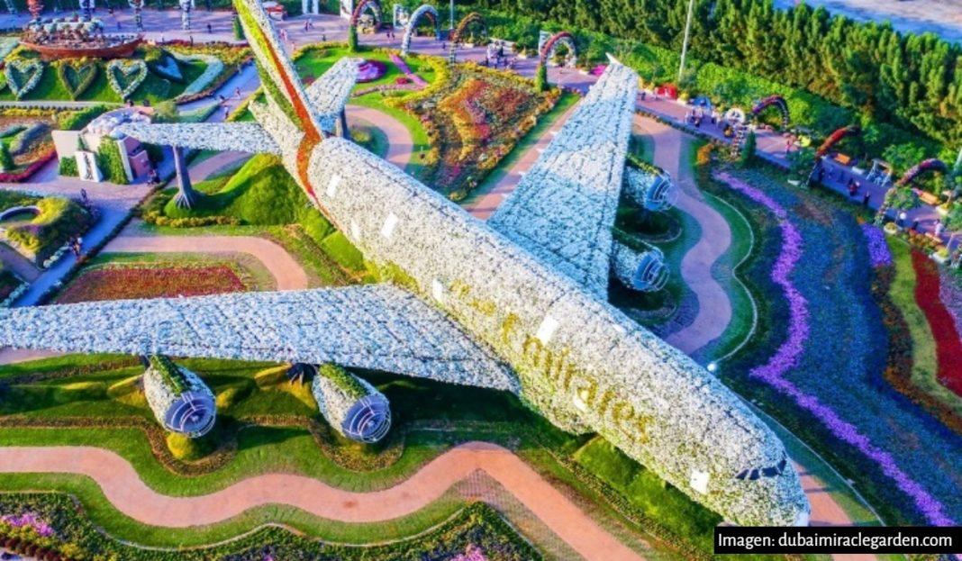 Así es el jardín más grande del mundo